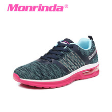 Monrinda Air Cushion Sneakers Women Breathable sports woman sneakers Gym Running Shoes mujer zapatos deportivos Walking Tennis