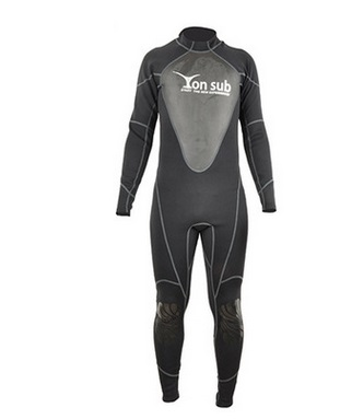 1.5MM Long-sleeved Warm Surfing Jellyfish One Piece Swimsuit Thick Clothing Men Full Body Wetsuit Equipment Snorkeling Jumpsuit