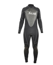 1.5MM Long-sleeved Warm Surfing Jellyfish One Piece Swimsuit Thick Clothing Men Full Body Wetsuit Equipment Snorkeling Jumpsuit new men and women long sleeved siamese sunscreen snorkeling service hooded diving sun clothing jellyfish siamese swimwear