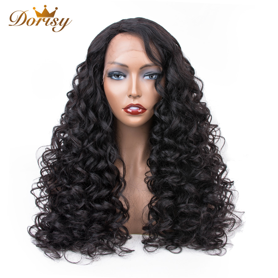 Lace Front Human Hair Wigs Pre Plucked Hairline Brazilian Water Wave Lace Front Wig Natural Color