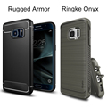 Original SGP Rugged Armor Cases for Galaxy S7 Ringke Onyx Case Durable Flexible TPU Defensive Cover Cases for Samsung Galaxy S7