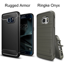 Original SGP Rugged / Ringke Onyx Cases for Galaxy S7 (5.1 inch) Durable Flexible TPU Defensive Case for Samsung Galaxy S7