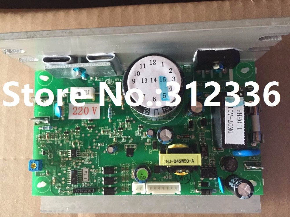 Free Shipping DK07-A01 1.0HP Motor controller optimal health treadmill circuit board can instead of DCMD57 DCMD67 fast shipping dc motor for treadmill model a17280m046 p n 243340 pn f 215392