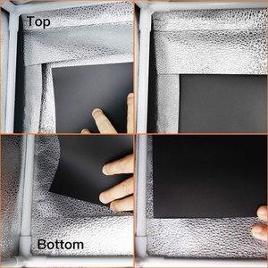 Image 5 - Spash caja de luz portátil para estudio fotográfico caja de luz para foto de 60 cm con fondo de 3 colores, tienda de mesa para fotografía, caja de luz para sesión de fotos