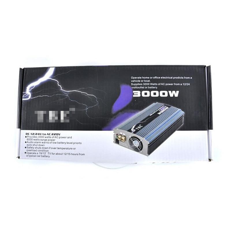 TBE 3000 watt Modifizierte Sinus Welle Auto 12 v DC zu 220 v AC Auto Auto Power Inverter mit Universal buchse Adapter Für Elektrische Fan