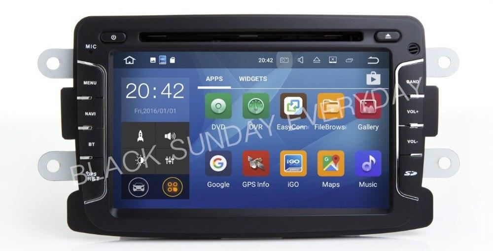 Android 8.1 Car Radio Gps For RENAULT Dacia Logan Sandero Duster Car Dvd Multimedia Player Auto Dvd Radio Stereo Head Unit Camer