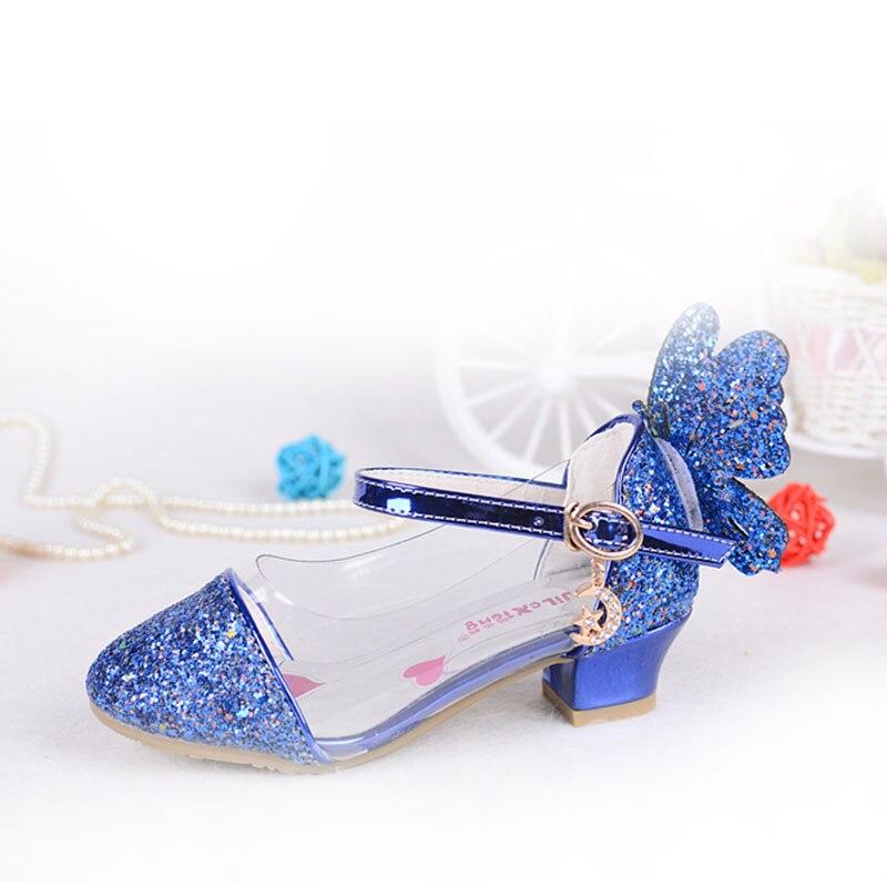 Peuter Meisjes Wing Glitter party pumps sandaal Pailletten Butterfly - Kinderschoenen - Foto 5