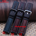 Laopijiang Leather accessories male adapter series Monaco Calera watch strap pin buckle 22mm