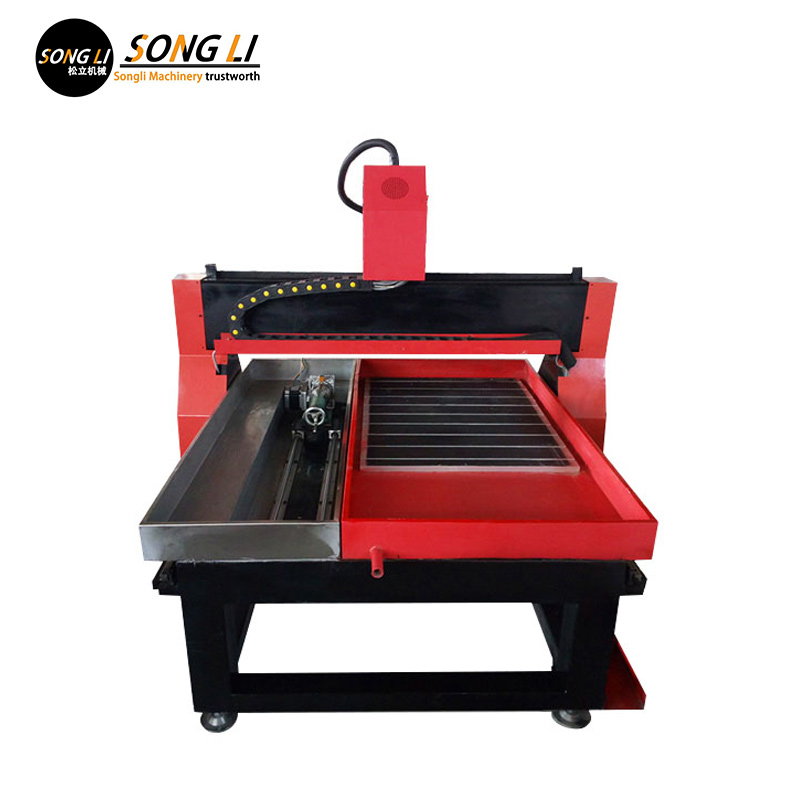 Songli <font><b>6090</b></font> 2.2kw small stone machine, <font><b>4</b></font>-<font><b>Axis</b></font> <font><b>cnc</b></font> router image