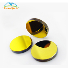 Free Shipping Si Mirror Diameter 19 20 25 30 38.1 mm Gold-Plated Silicon for CO2 Laser Engraving Cutting Machine