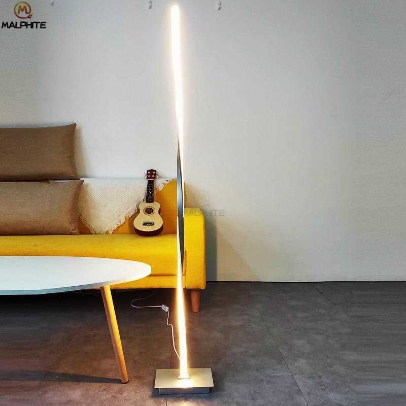 Hell Nordic Led Standing Lampe Moderne Wohnzimmer Schlafzimmer Nacht Boden Lampen Für Stand Licht Home Decor Leuchten Leuchte Auswahlmaterialien Lampen & Schirme