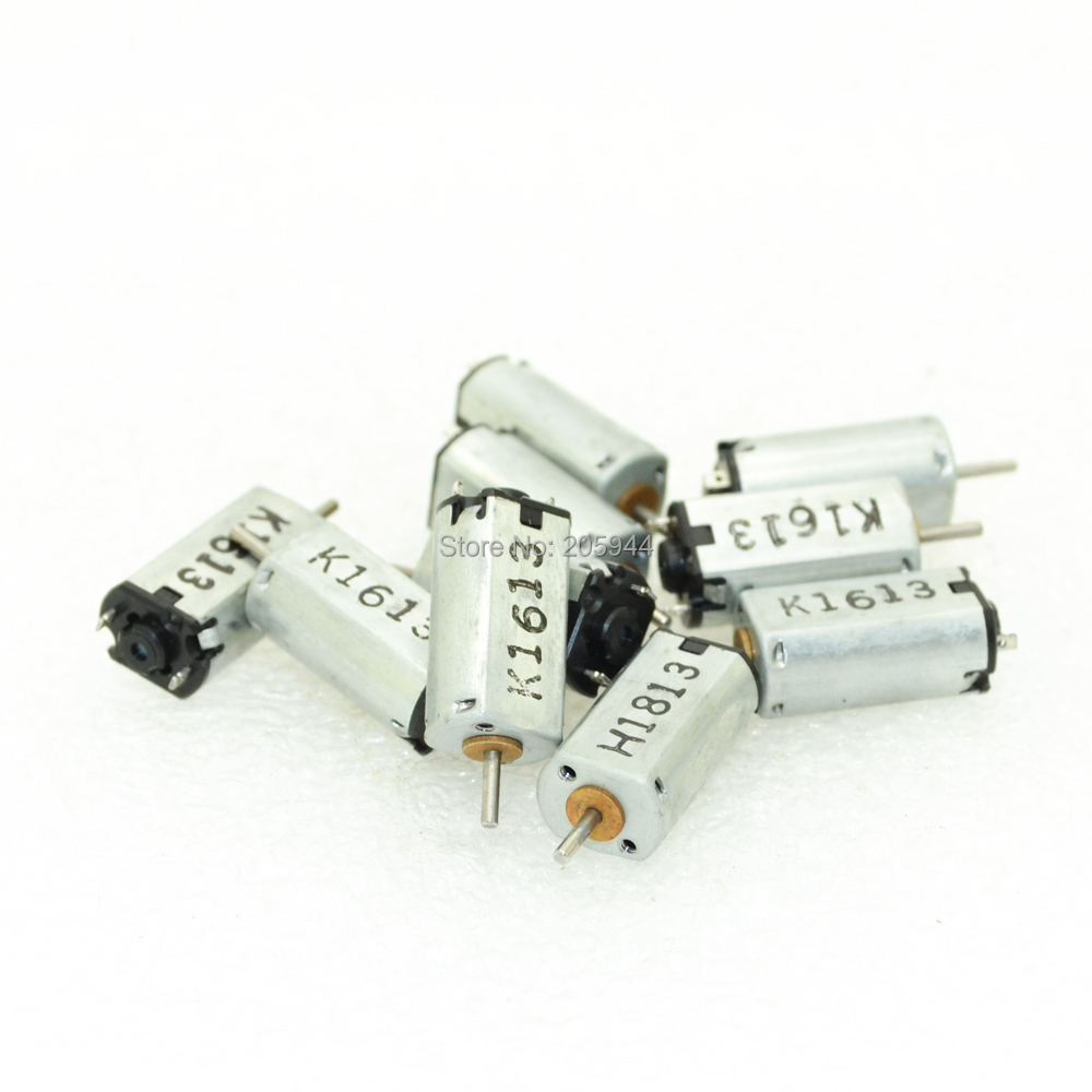 10pcs K20 DC3V-4.5V 0.04A-0.05A DC Solar motor For camera//Mini DIY High speed motor