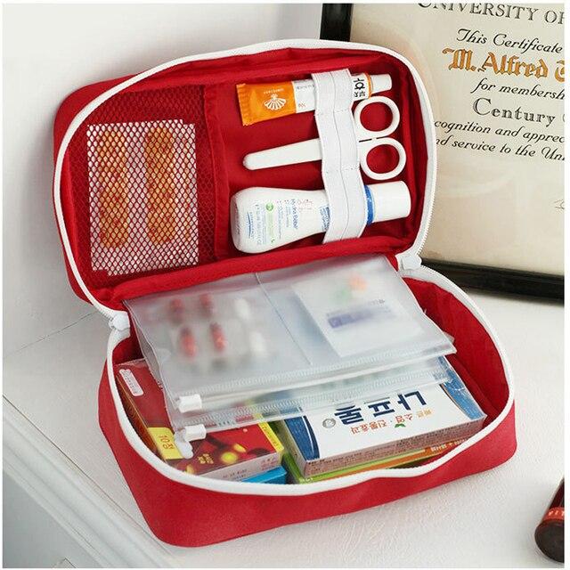 Portatile Medio Vuoto Delle Famiglie Multi-Layer Kit di Pronto Soccorso Sacchetto Esterno Del Sacchetto Dell'automobile Borsa di Pronto Soccorso di Sopravvivenza Medine di Viaggio di Salvataggio Borsa