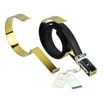 Gold Metal Belt Holder Stand Belt Display Rack Belt Rack belt holder rack