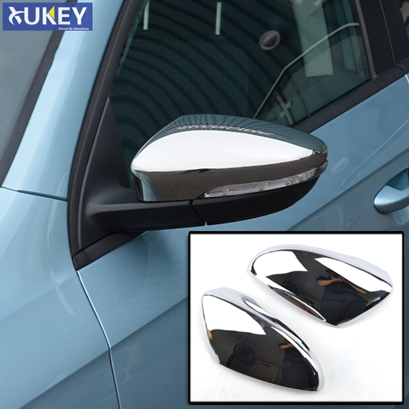 Top Half Cover Tyger Auto Fit 2012-2014 Ford Edge//Lincoln MKX Chrome ABS Mirror Cover