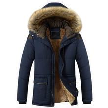 2017 горячие теплые мужские случайные куртки пальто плюс хлопок пальто Шинель бесплатная доставка
