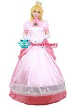 Vrouwen Prinses Jurk Perzik