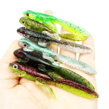 3pcs 3.8g/7.7cm Handmade Soft Bait Fish Fishing Lure Shad Manual Silicone Bass Minnow Bait Swimbaits Plastic Lure Pasca 167