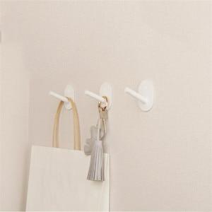 Image 3 - 3 sztuka Youpin HL mały klej wielofunkcyjny haki ścienne wieszak na mopa silna łazienka sypialnia ściana kuchenna haki 3kg max loa