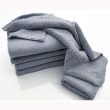 40*40cm Edgeless Microfiber Towel Car Cleaning Car Wash Detailing Premium Super Absorbent Towel For Car Wash Drying Cloth 2019