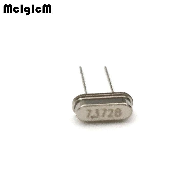 1000pcs hc 49s 7 3728MHz 20ppm 20pF quartz resonator