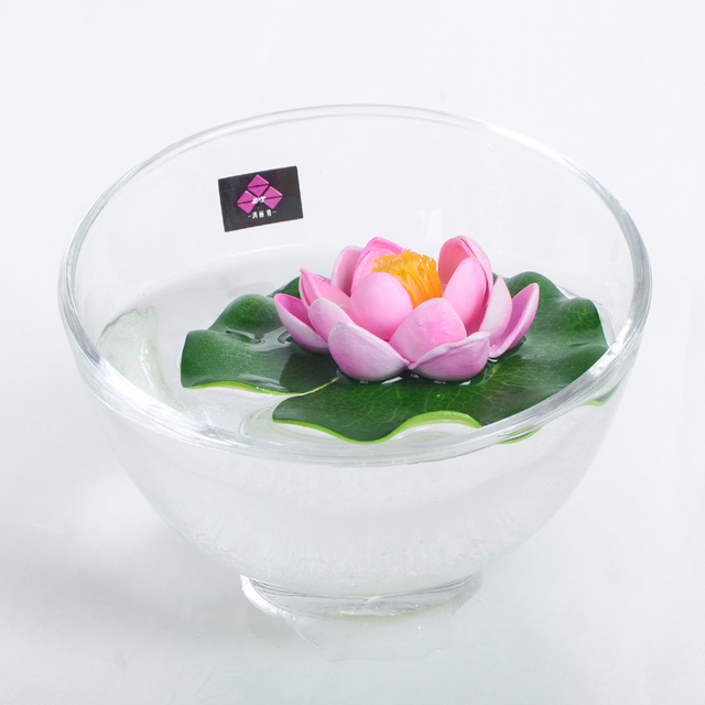 Artificial Lotus And Lotus Leaves Water Features Floating Flowers
