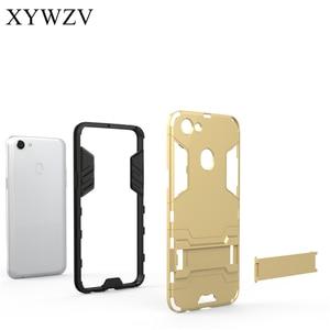 Image 4 - For Cover OPPO F5 Case Silicone Robot Hard Rubber Phone Cover Case For OPPO F5 Cover For OPPO F5 A73 Coque XYWZV