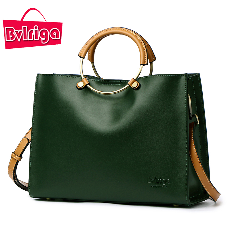 BVLRIGA Women Bag Luxury Handbags Women Bags Designer Female Genuine Leather Bag Handbags Women Famous Brand women messenger bag