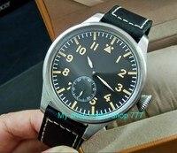 55 mm very big dial PARNIS Asian 6498 Mechanical Hand Wind Mechanical movement men watches Mechanical watches DF355a
