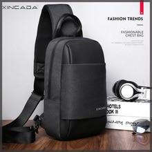 XINCADA Sling Bag Messenger Chest Pack Crossbody Shoulder Bags Small Single Packs Man Purses Murse and
