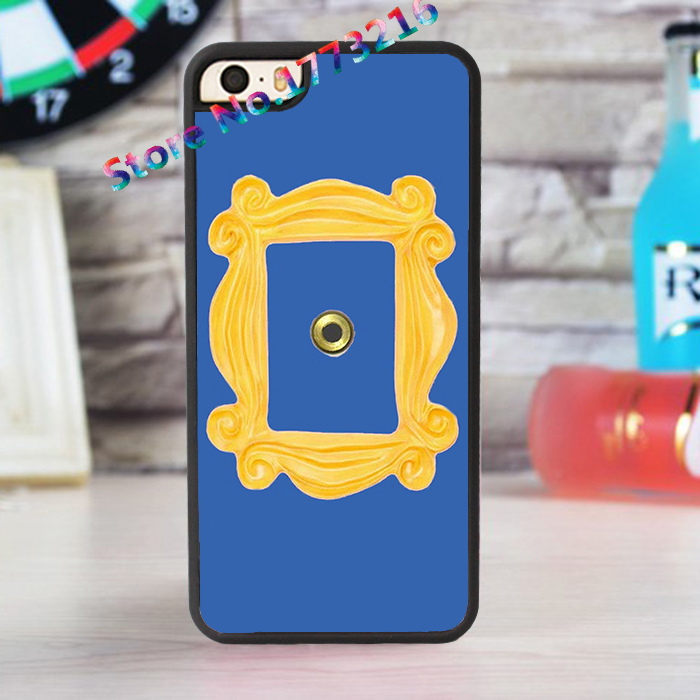 monicas peephole door frame friends tv show sitcom fashion case for iphone 4 4s 5 5s se 5c for 6 6 plus 6s 6s plus 7 7 plus