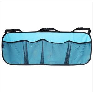 Image 4 - 車のトランク収納袋/シートバッグ、収納ネット高容量/車の靴、バスケットボール機器バッグネットトランク