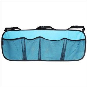 Image 4 - Araba gövde saklama çantası/koltuk asılı çanta, depolama net yüksek kapasiteli/ayakkabı, basketbol ekipmanları çanta net gövde