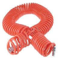 15M 19 Ft 8mm x 5mm Polyurethane PU Recoil Air Hose Tube Orange Red