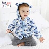 HHTU Cute Spring Kids Jacket Baby Boys Grils Hooded Outerwear Coats Long Sleeve Newborn Clothes Kids