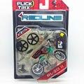"""NUEVA Flick Trix Bmx Mini Finger Bike """"RL-2011"""" modelo de aleación de barras de soporte de exhibición de bicicletas con ruedas truco bonus pegatinas y herramientas"""