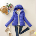 Hot sale! 2016 Warm Winter Parka Jacket Coat Ladies Women Jacket Slim Short Padded Women Winter coat jacket for female