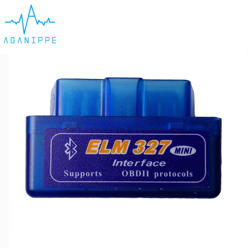 Elm327 V2.1 OBD2 Bluetooth Autoscanner For Car New Frosted Material Elm-327 2.1 ODB Scanner Diagnostic Auto Adapter Code Reader