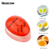1Pc /Hot Kitchen Resin Egg Timer Cooking Supplies Perfect Color By Temperature  Boiled Eggs Helper
