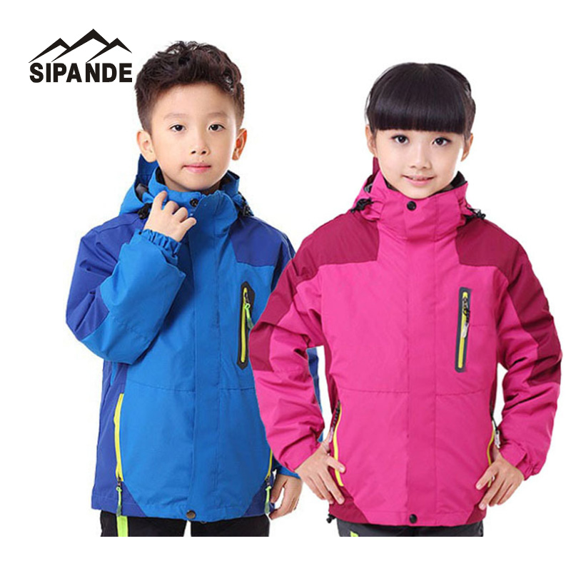 Children Warm jacket girls and boys Snow Winter Windbreaker Snowboard Ski Coat Kids Outdoor Waterproof Clothes With Hooded children winter coats jacket baby boys warm outerwear thickening outdoors kids snow proof coat parkas cotton padded clothes