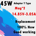 T Type 45W 14.85V 3.05A Laptop Power Adapter Charger A1346 for Air 11