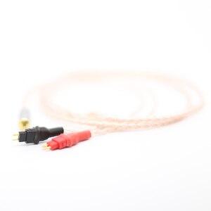 Image 3 - 2.5mm TRRS מאוזן כבל עבור HD650 HD600 HD660s כסף & נחושת מעוות אוזניות משודרג כבל