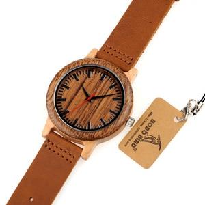 Image 5 - BOBO VOGEL WM14 Wenge Holz Uhr für Männer Kühlen Ahorn Holz Quarz Uhren in Geschenk Box