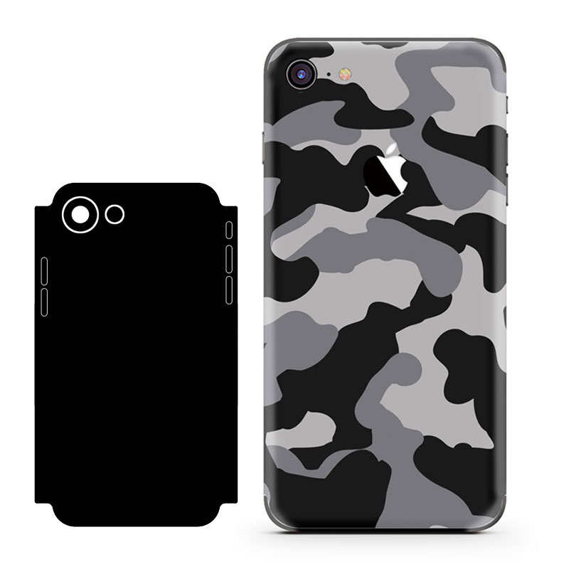 Cool Stickers For iPhone 6 Back Film Protective Cover Stickers For iphone 6s Phone Color Back Film Paster Camouflage Series
