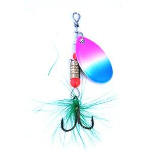 Image 4 - OLOEY angeln locken mit haken fischerei löffel wurm wobbler trolling angeln lockt topwater spinner garnelen tintenfisch Pesca Isca