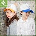 Nueva venta de corea del sur alcanzó viseras cap baseball cap niños 3-10 años de edad del bebé sombrero de los niños del verano cap viseras