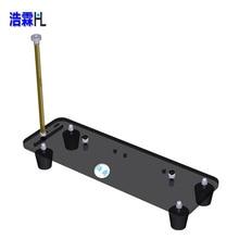 PCI E 3,0 16X видео Расширение карты кабель вертикальная подставка/база с сильной магнитной ногой с подставкой для видеокарты