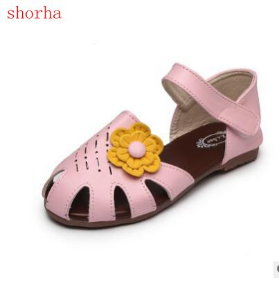 New hot girl sandals flowers sandals soft bottom female baby little new hot girl sandals flowers sandals soft bottom female baby little flowers sandals pink white girl summer shoes 21 30 in sandals from mother kids on mightylinksfo