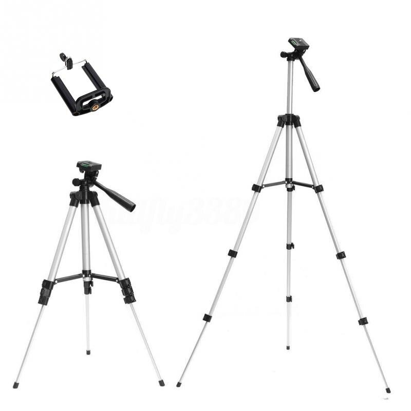 Trípodes soporte de cámara cam smartphone teléfono móvil monopod tripe extensión stick trípode para cámara standaard