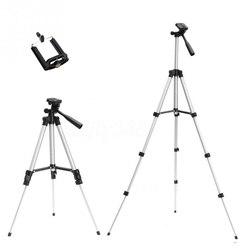 Tripés suporte da câmera cam smartphone titular do telefone móvel monopé tripe extensão vara tripé para câmera standaard